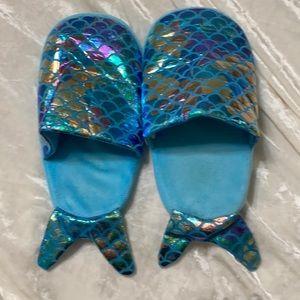 Mermaid Slippers Metallic